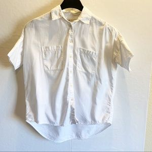 Madewell Short Sleeve Button Down Size xs